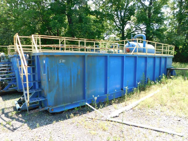 (1 of 3) 300-Bbl Open-Top Flowback Tank – DY3 YD8