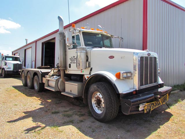 '08 PETE 367 4-Axle Winch Tractor – DY2 YD11