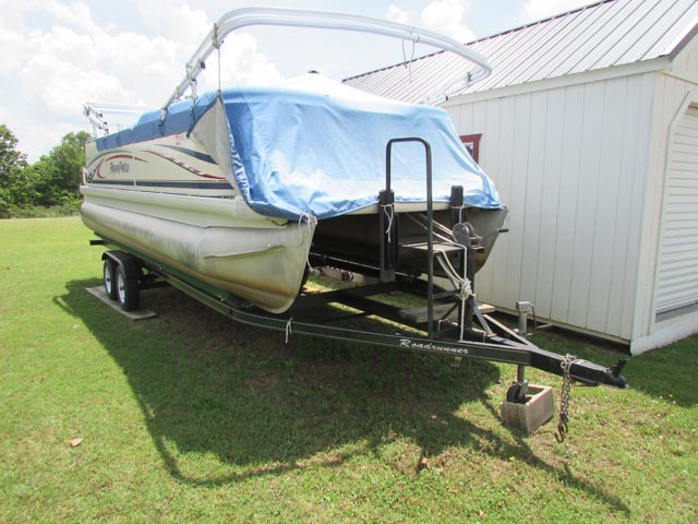 '04 AQUA PATIO 220RE Pontoon Boat – DY2 YD9