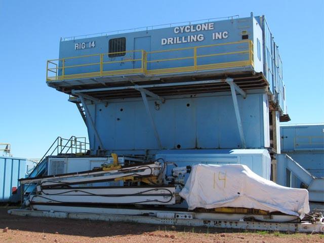 Cyclone Drilling Rig #14  – DY1 YD1