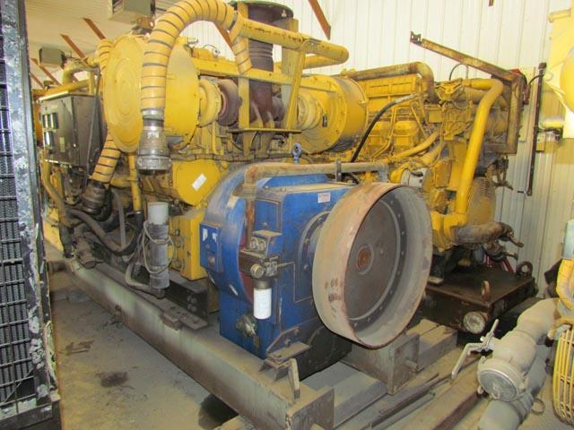 (2) CAT 3512 Pump Engines  on Rig #30– YD5