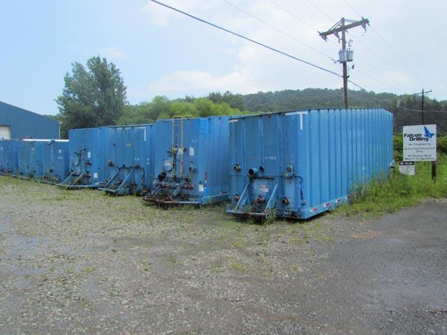 (4) 500-Bbl Frac Tanks – YD5