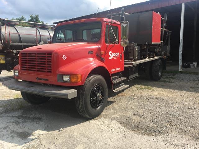 INTERNATIONAL Single Pump Truck – YD6
