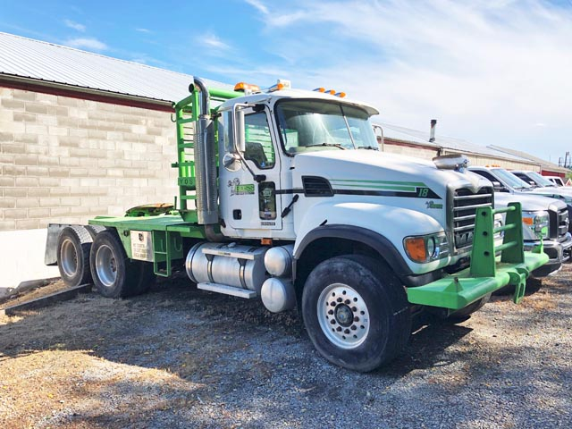 MACK Granite Winch Truck – YD3