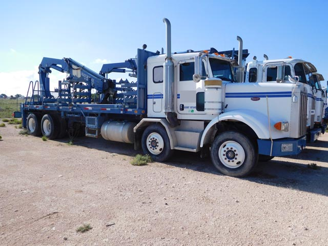 2005 PETE 357 Twin Steer Hardline Truck – YD5