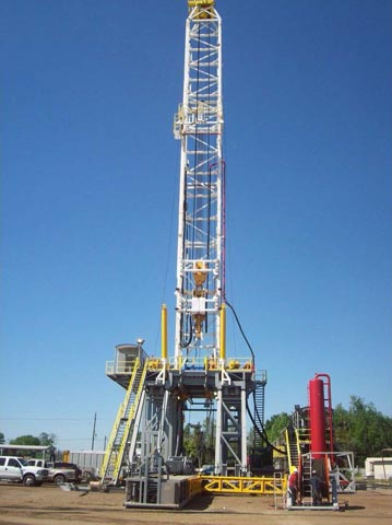 LOADCRAFT 2000HP SCR Drilling Rig – YD11