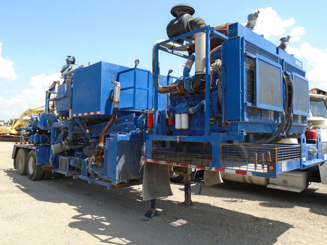 (1 of 9) Cement Pumping Units – YD12