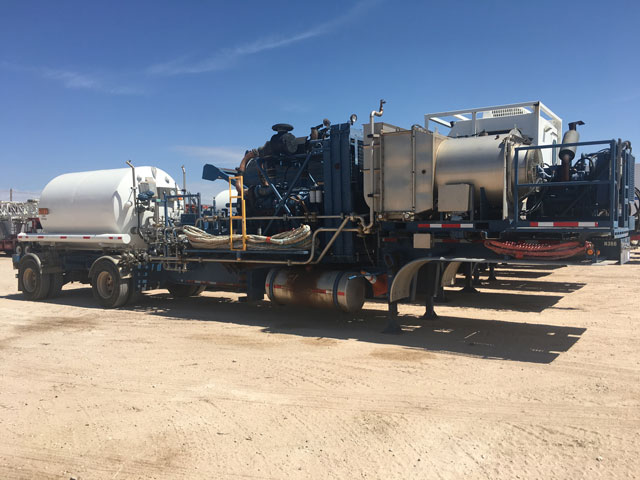 (1 of 2) 2008 HYDRA RIG Nitrogen Pump Trailer – YD1