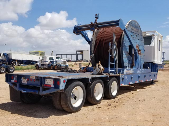 Coiled Tubing Reel Trailer – YD1