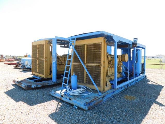 (2) CAT D3512 1250HP Engs – DY1 YD24