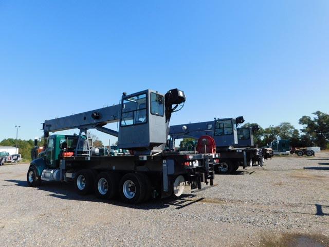 (3) ALTEC AC38-103S Boom Truck Cranes
