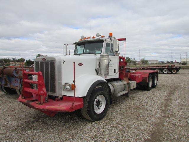 2008 PETE 367 Winch Truck