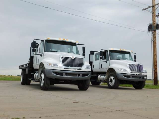 2-2018 International 4300 Tong Trucks