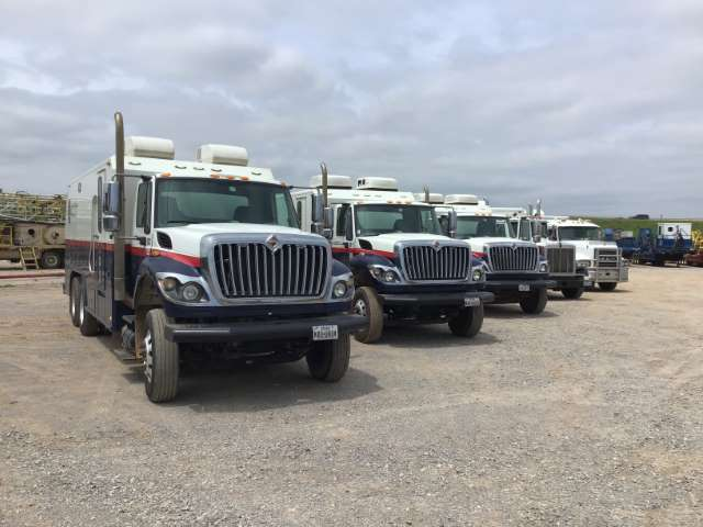 5 of 8-Wireline Trucks (Custom)