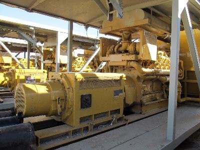 (1 of 3) GE 850KW 600V GEN SET w/CAT D-398 – DY2 YD1