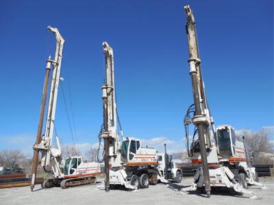 SOILMEC Hydraulic Drilling Rigs