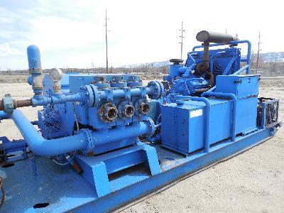 (1 of 3) EWCO W440 Triplex Pumps – YD1