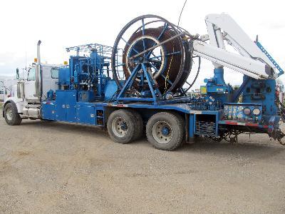 KOVA ENGINEERING Coiled Tubing Unit – DY2 YD9