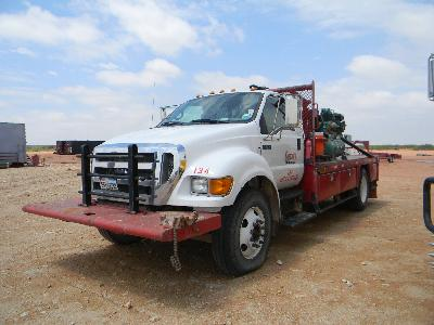 2007 FORD F-650 Roustabout Truck – DY2 YD1