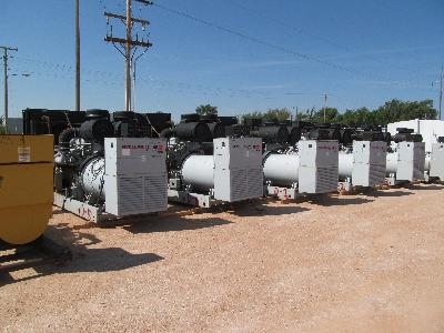 (6) DETROIT 1000KW Generators p/b MTU'S
