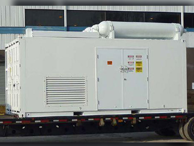 CNG in a Box Compressor Package
