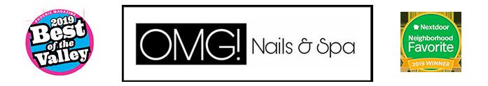 OMG Nails & Spa  Logo