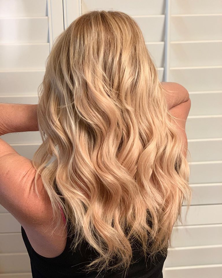 "When you've always wanted long hair but never seem to be able to grow it out...  13"" Hairtalk USA Tape-in Extensions by Brittney.  Extensions that look so real only your hairdresser will know."