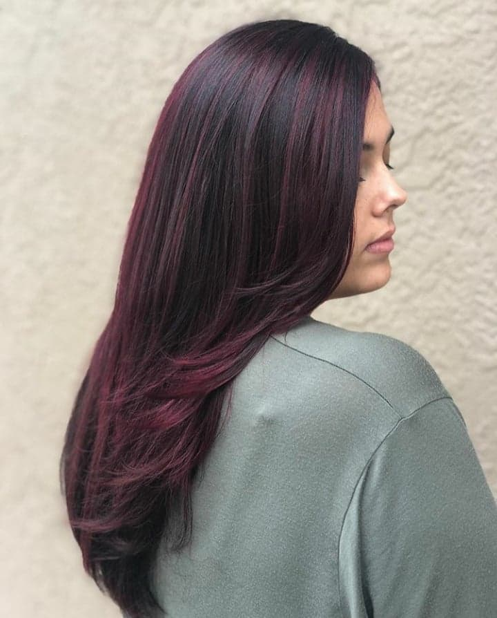 Full set of HairTalk USA Tape In Extensions and Redken Color Makeover by Tamara