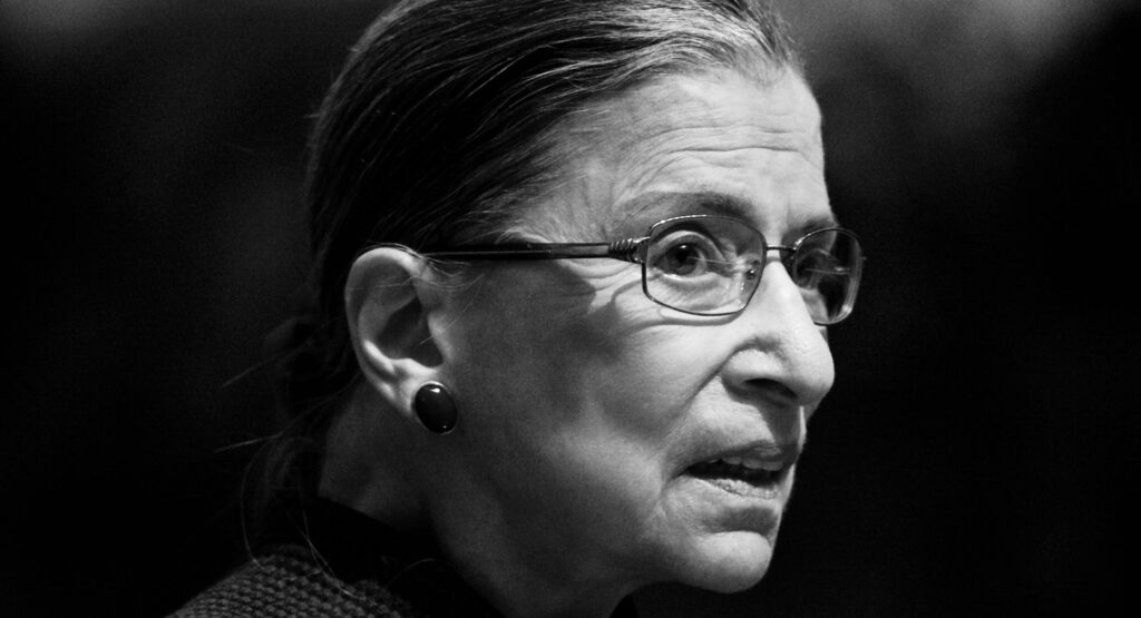 Picture of Ruth Bader Ginsberg