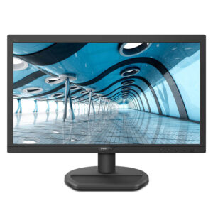 Philips LED technology 18.5-inch LCD Monitor (Black)
