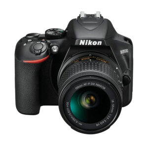 Nikon D3500 DSLR camera with 18-55 mm Lens Memory Card and Carry Case (Black)