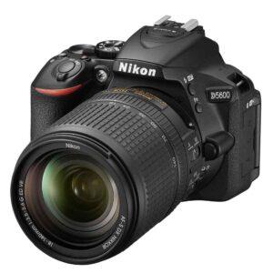 Nikon D5600 DSLR Camera 18-140mm VR Kit  with memory card Bag (Black)
