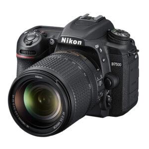 Nikon D7500  DSLR Camera  with AF-S DX NIKKOR 18-140mm  Lens Memory card and Bag (Black)