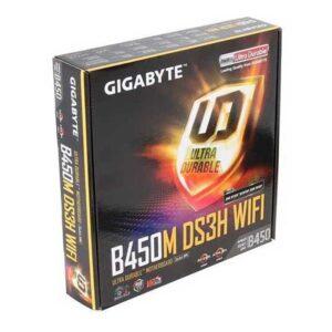 Gigabyte B450M DS3H WiFi Motherboard (AM4/ AMD B450/ SATA 6GB/s/USB 3.1/ HDMI/WiFi/Bluetooth)