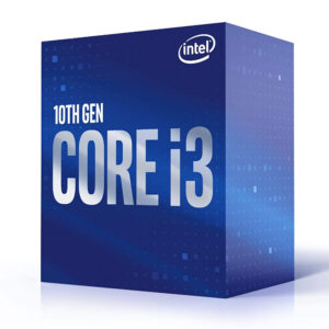 Intel Core i3-10100  Processor 4 Cores up to 4.3 GHz  LGA1200 (Intel 400 Series Chipset)