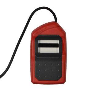 Morpho 1300 E3 Biometric Fingerprint Scanner(Red and Black)