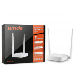 Tenda N301 Wireless-N300 Easy Setup Router (White)