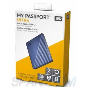 External Hard Drive WD My Passport 2TB Portable(Black)