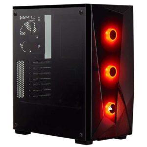 Corsair Carbide Series SPEC-Delta RGB Tempered Glass Mid-Tower ATX Gaming Case – Black