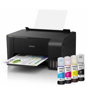 Epson EcoTank L3110 All-in-One Ink Tank Color Printer (Black)