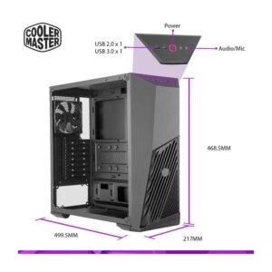 Cabinet Cooler Master MasterBox K501L RGB (Black)
