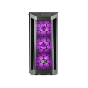 Cooler Master Box MB511 RGB Steel/Plastic/Tempered Glass ATX Mid Tower Computer Case (Black)