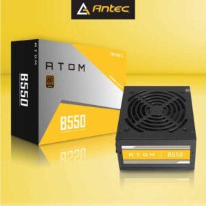 Antec Atom B550 550 Watt 80 Plus Bronze Certified Power Supply with Active Power Factor Correction (APFC) (B 550)
