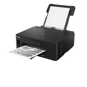 Canon PIXMA GM2070 Single Function Wi-Fi Mono Ink Tank Printer with Auto-Duplex Printing and Networking (Black)