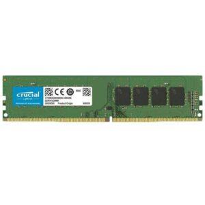 Crucial 8GB Single DDR4 2666 RAM MT/s (PC4-21300) SR x8 DIMM 288-Pin Memory