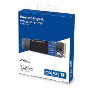 WD Blue 250GB M.2 Internal Solid State Drive (WDS250G2B0B-SSD)