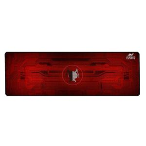Ant Esports MP300 Large Extended Waterproof Mousepad (Black and Red)
