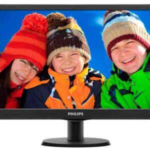 Monitor Philips 193V5LSB2 18.5-inch LCD  (Black)