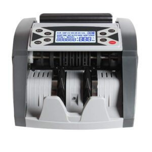 GOBBLER GB-502-MV Professional Note Counting Machine with Advanced Fake Note Detection and Voice Function