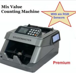 Grandmaster Premium Fully Automatic Mix Value Counter (Note Counting)